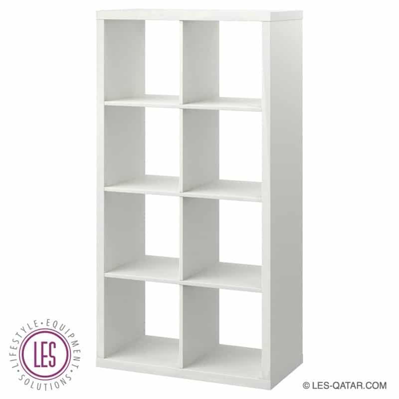 LES Wooden Design Rack – White – LES000218