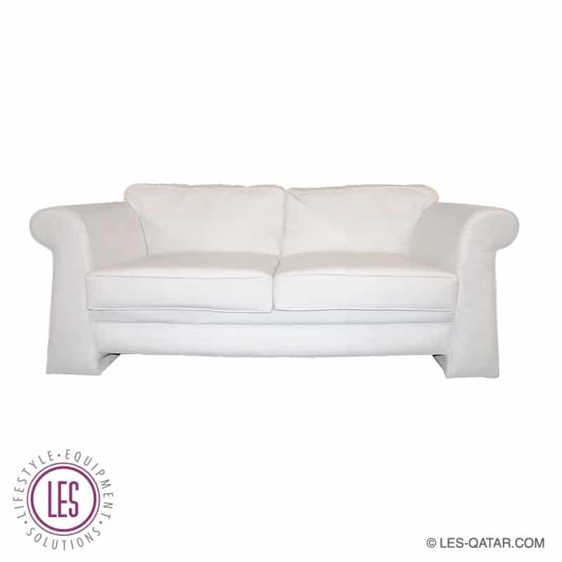 LES Leather Classic Style Sofa – Two-Seater – LES000078