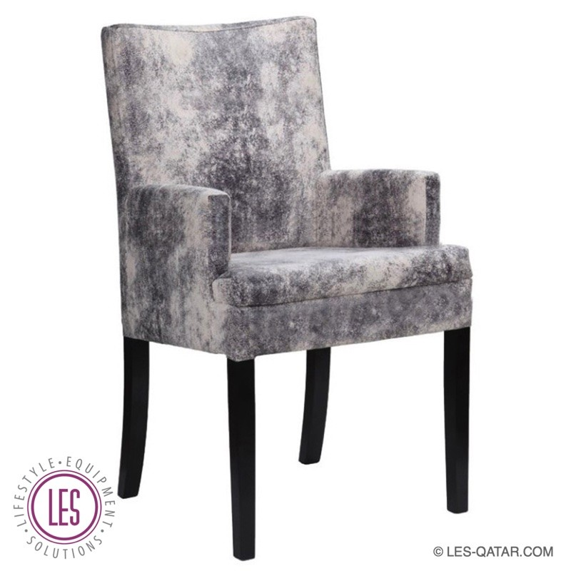 LES Fabric Luxury Armchair – Marble Pattern – LES000062