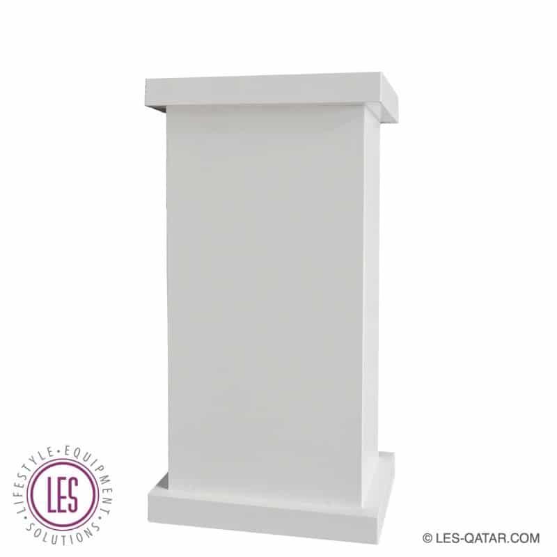 LES wooden brandable lectern – LES000127A