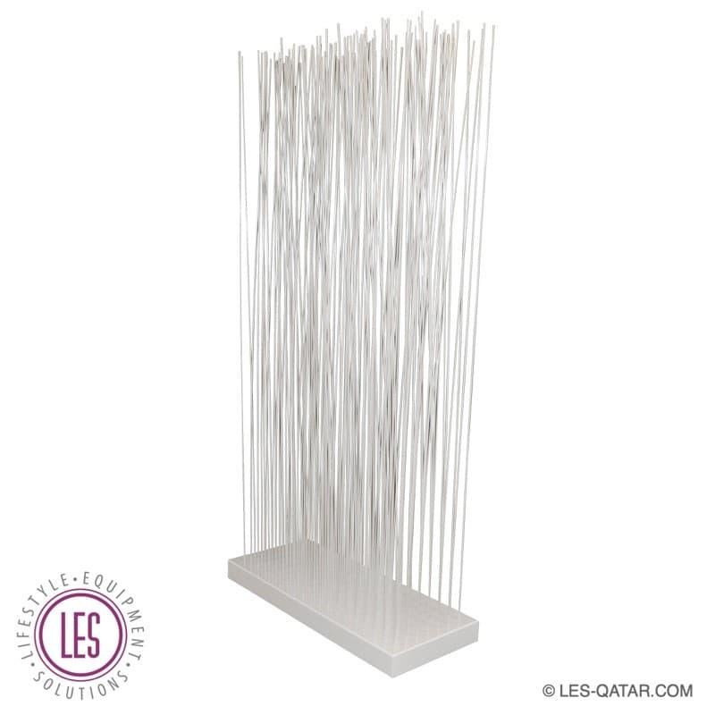 LES Fiber Room Divider with White Fiber Glass Rod – LES000196