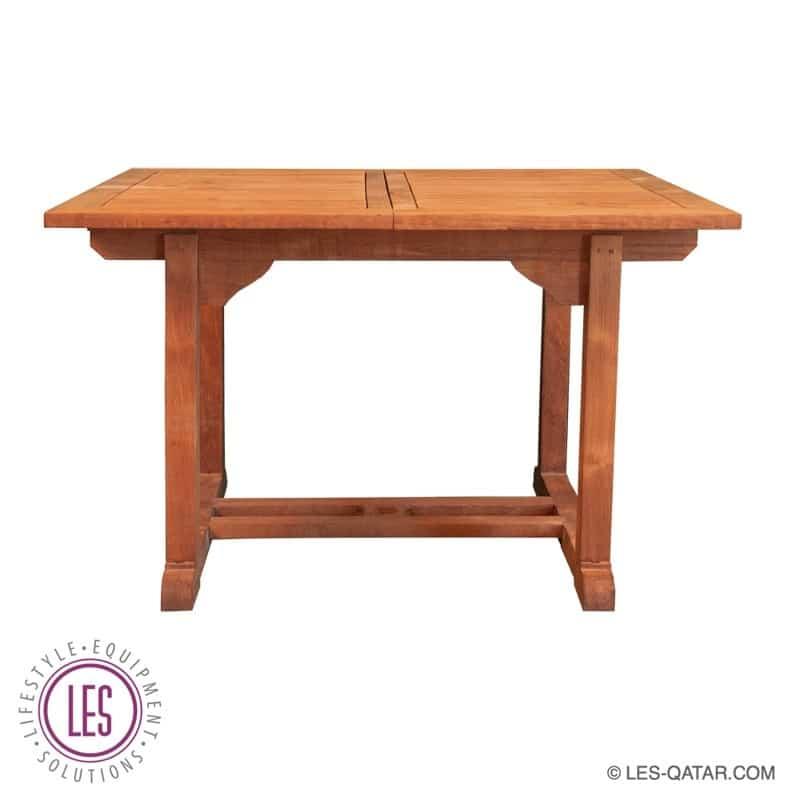 LES Rectangle Teak Wood Table – LES000019