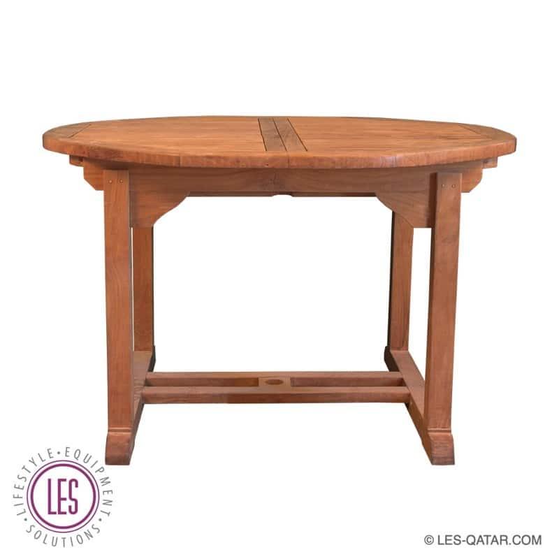 LES Round Teak Wood Table – LES000018