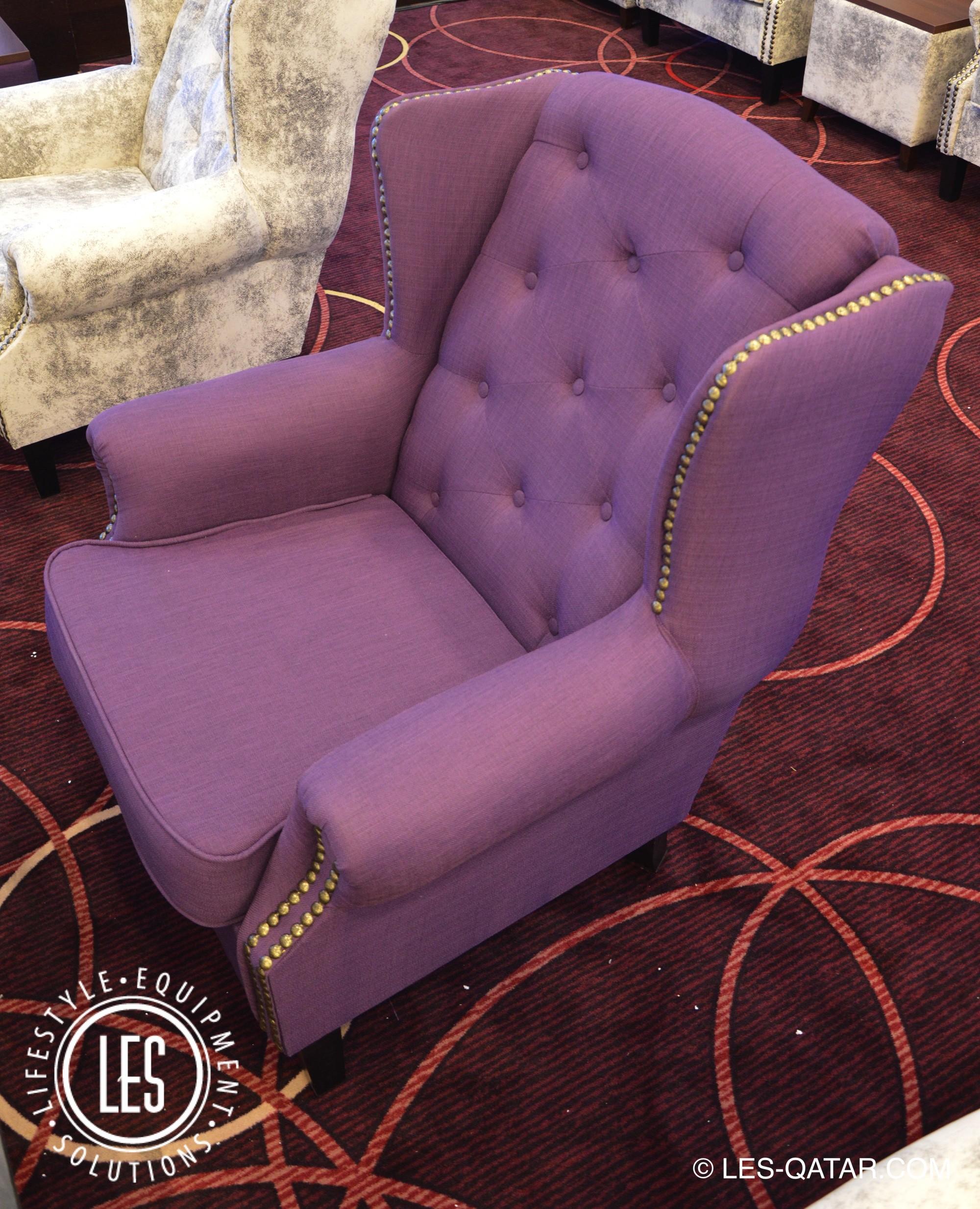 LES VVIP Wing Chair U2013 Purple