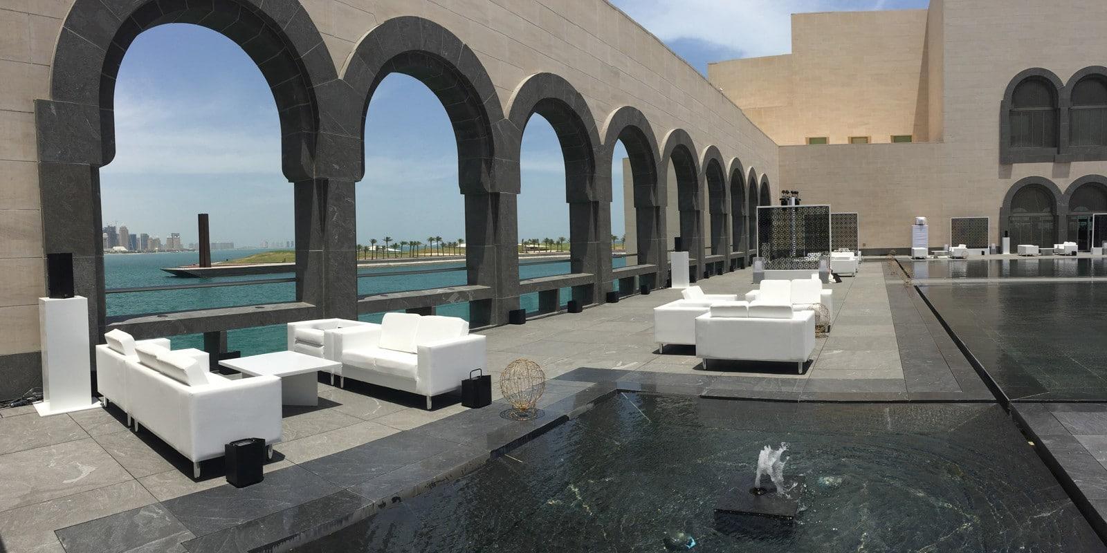 Lifestyle equipment solutions les qatar event rental