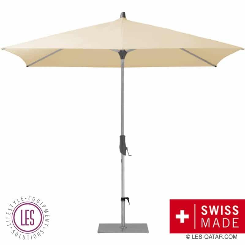 LES GLATZ Alu Push Easy Sunshade – Swiss Made – LES000237