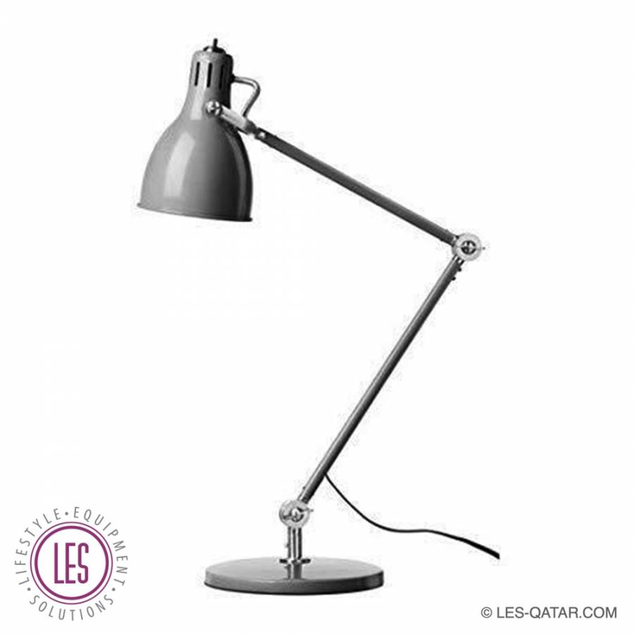 LES desk lamp grey