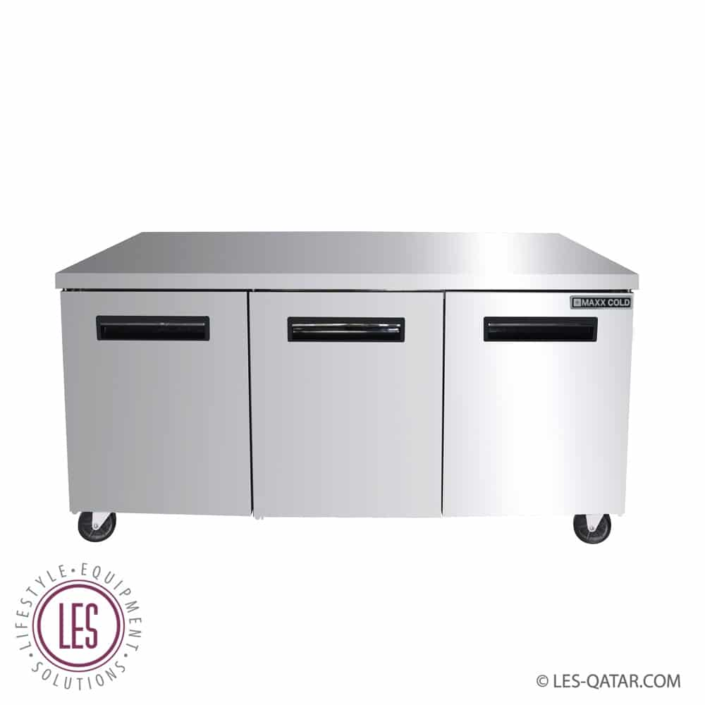 Refrigerator under counter 3 door