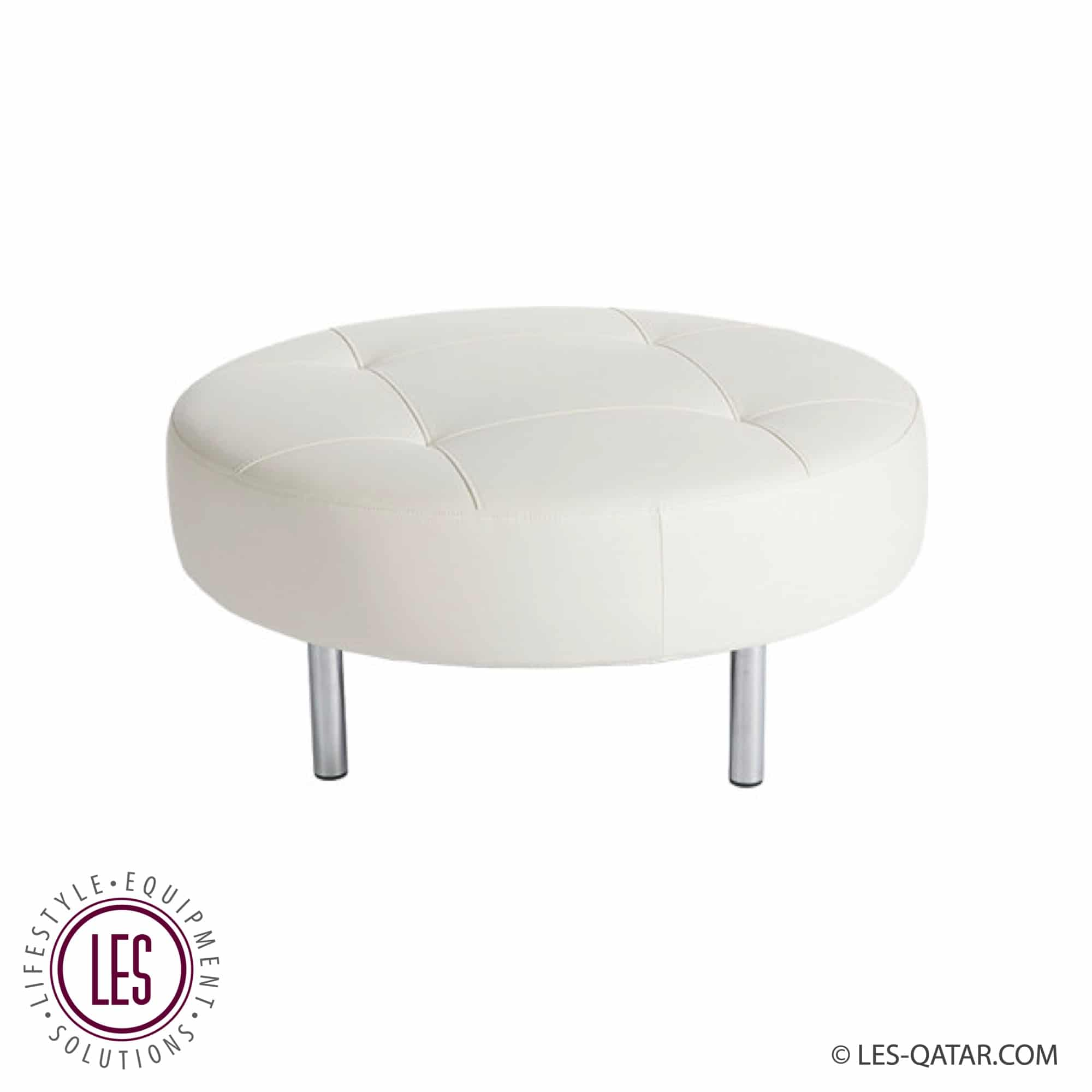 ENDLESS ROUND SEAT WHITE