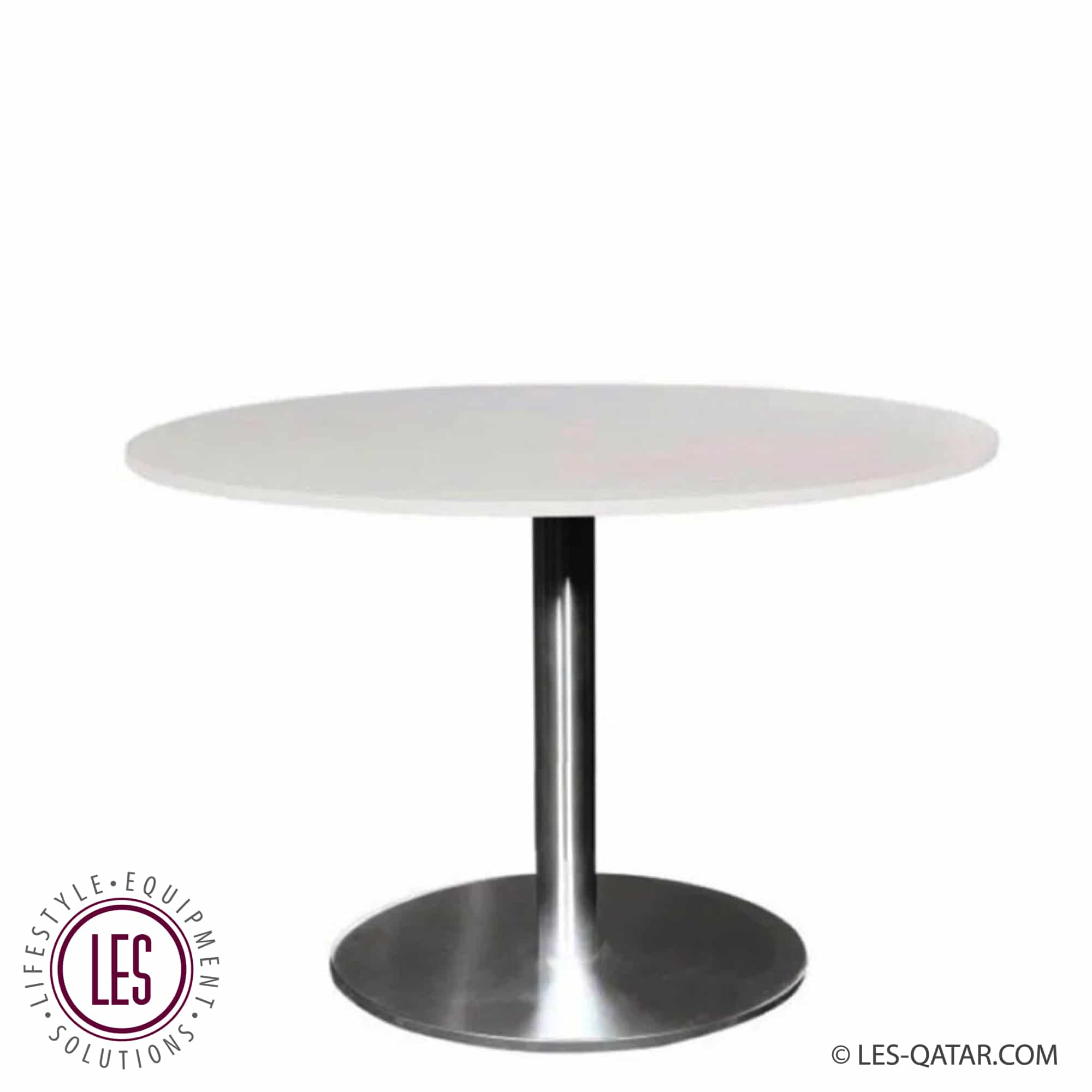 LES round lounge table