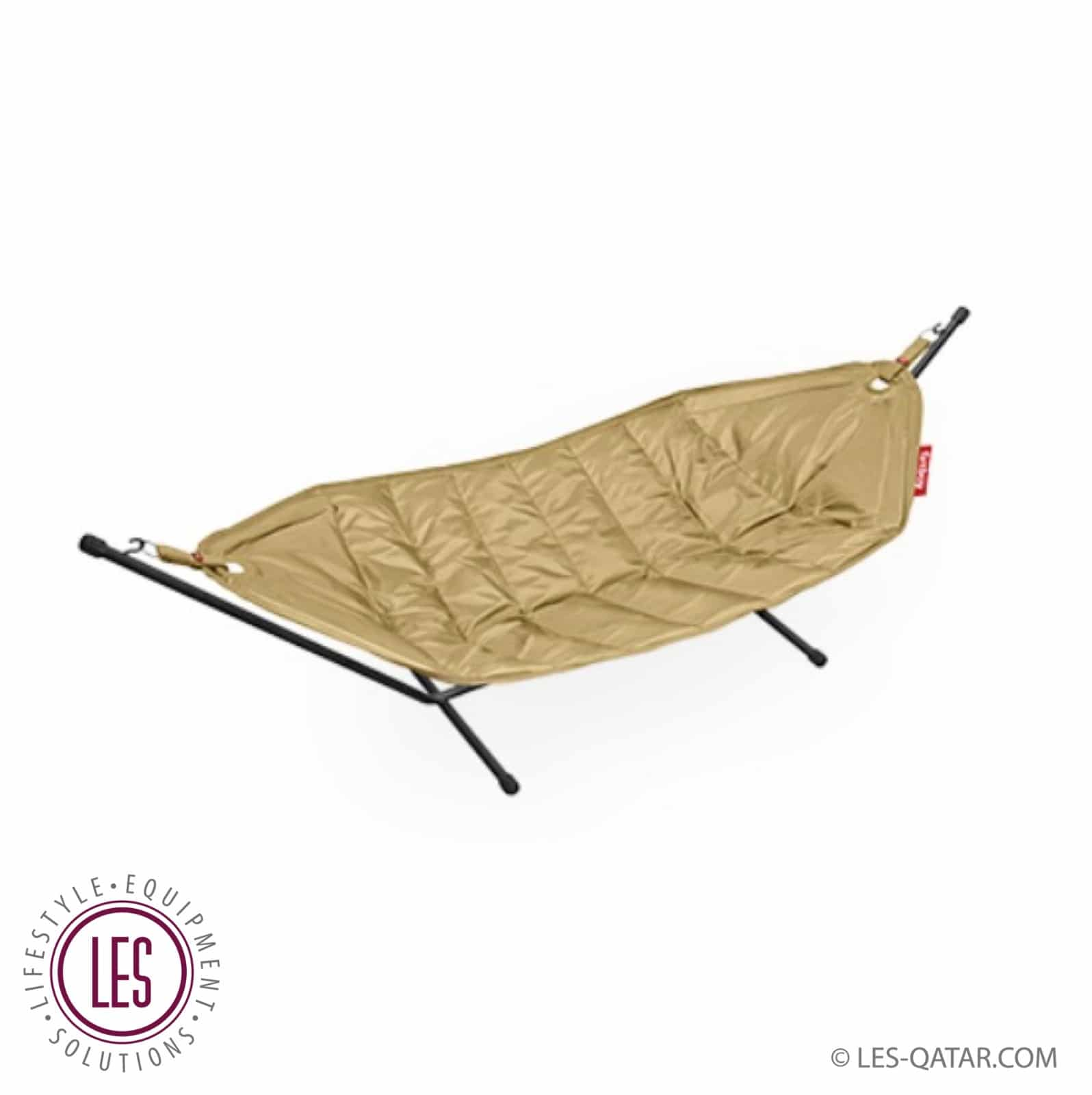 LES original fatboy hammock with stand sand