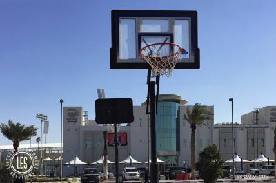 LES Basketball Net and Stand