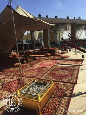 LES Stretch Tent Arabic Rugs