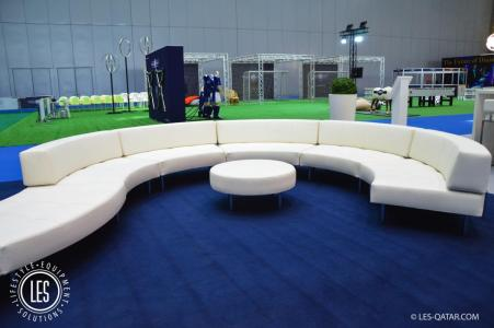 Endless Collection White Lounge Area Hospitality Qatar2019